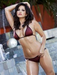 Sunny Leone in a bikini