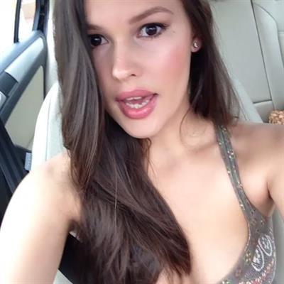 Juliet Gonzalez taking a selfie