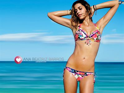 Ana Beatriz Barros in a bikini