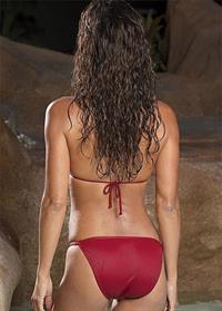 Brooke Burke in a bikini - ass