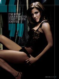 Jillian Wagner in lingerie