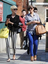 Frankie Sandford - Spotted in London Town (03.05.2013)