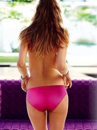 Behati Prinsloo in lingerie - ass