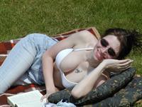 Chantal in a bikini