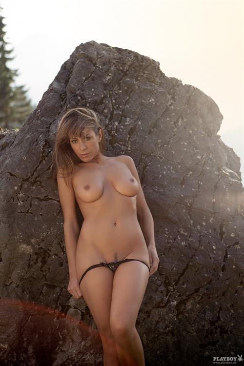 Andrea Landgraf Nude. German Playboy Cybergirl for Sept ...
