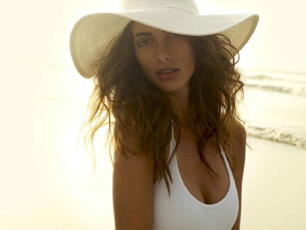 Juliana Saldarriaga in a bikini