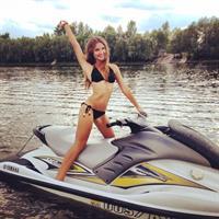 Masha Solodenko in a bikini