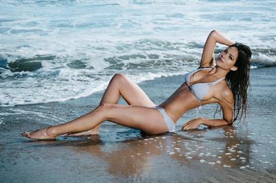 Christen Harper in a bikini