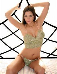 Amanda Hanshaw in lingerie