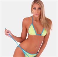 Jessica Marie Jones in a bikini