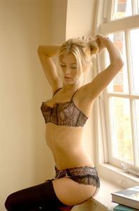 Natasha Marley in lingerie