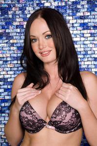 Melissa Lauren in lingerie