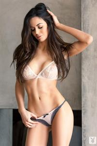 Audrey Nicole in lingerie - breasts