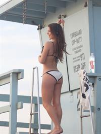 Amanda Cerny in a bikini - ass