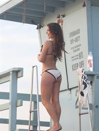 Amanda Cerny in a bikini - ass