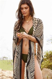 Lauren Layne in a bikini