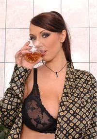 Merilyn Sakova in lingerie