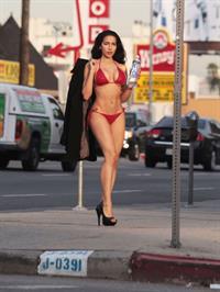Nasia Jansen in a bikini