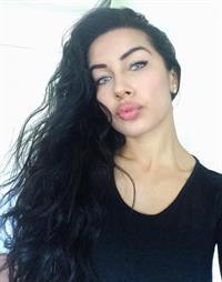Nasia Jansen taking a selfie