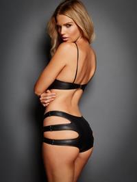 Rachel Mortenson in lingerie - ass