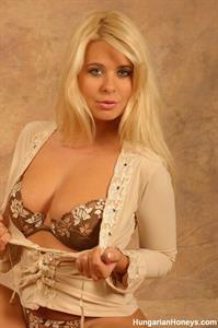 Kelly Norton in lingerie