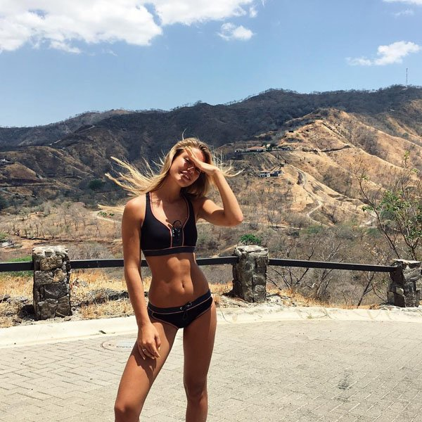 Jessica Goicoechea in a bikini