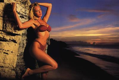 Ashley Richardson in a bikini
