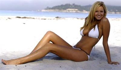 Jamie Lee Darley in a bikini