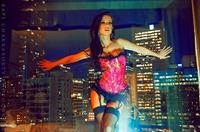 Sheala Foster in lingerie
