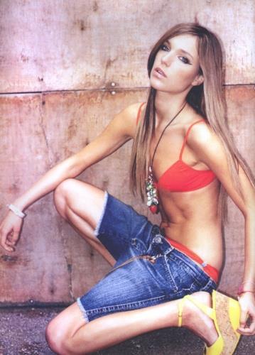 Ania Chorabik in a bikini