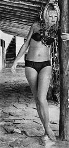 Brigitte Bardot in a bikini