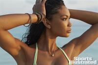 Chanel Iman in a bikini