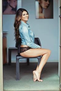 Kyra Santoro in lingerie