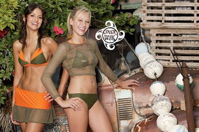 Kristen Alderson in a bikini