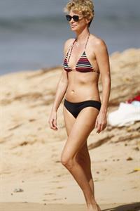Charlize Theron in a bikini
