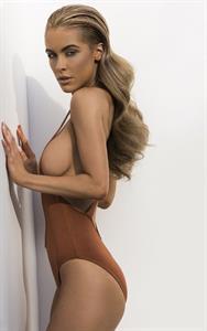 Ellie Gonsalves in a bikini
