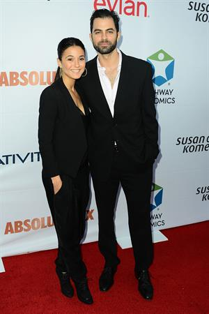 Emmanuelle Chriqui attending Pathway to the Cure Benefit at Santa Monica Airport June 11, 2014