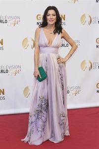 Jaime Murray and Julie Benz at 54th Monte Carlo TV Festival closing ceremony June 11, 2014