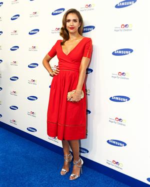 Jessica Alba at Samsung Hope For Children Gala 2014 in NYC, June 10, 2014