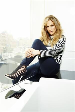 Jennifer Lopez portrait session for AKA at the Standard High Line Hotel, NYC June 10, 2014