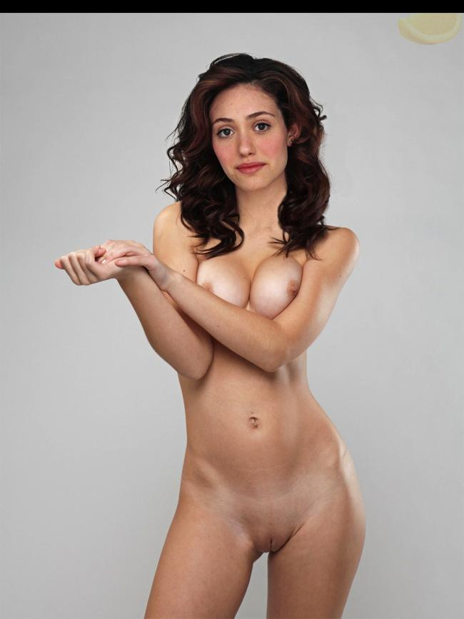Emmy Rossum - pussy and nipples
