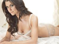 Samantha Harris in lingerie