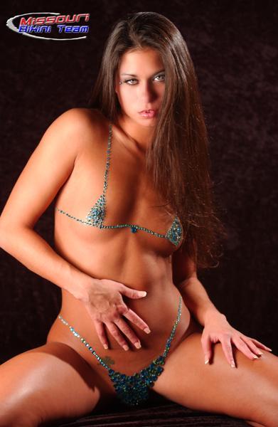 Natalie Nicole Graves in a bikini
