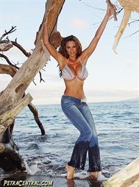 Petra Verkaik in a bikini