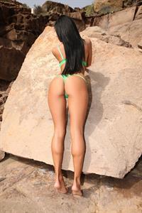 Ashley Bulgari in lingerie - ass