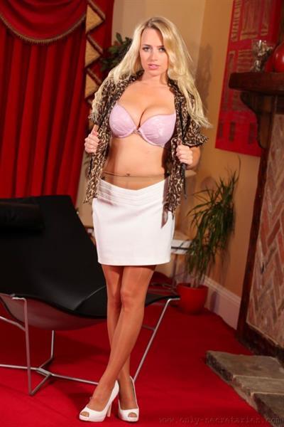 Holly Gibbons in lingerie