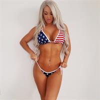 Laci Kay Somers in a bikini