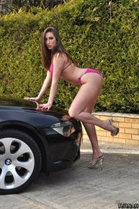 Paige Turnah in a bikini
