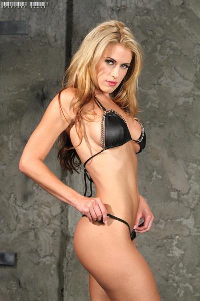 Randy Moore in a bikini