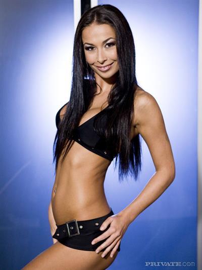 Hana Black in a bikini